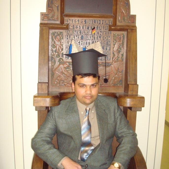 Defense of Dr.-Ing. Saqib Ehsan, M.Sc.