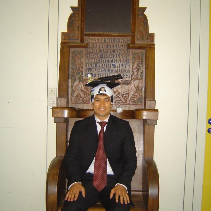 Defense of Dr.-Ing. Abror Gafurov, M.Sc.