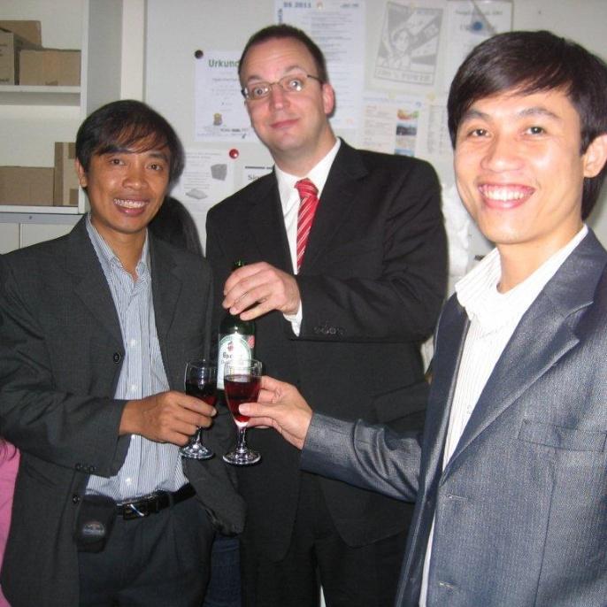 Defense of Dr.-Ing. Nguyen Viet Dung, M.Sc. and Dr.-Ing. Nguyen Nghia Hung, M.Sc.